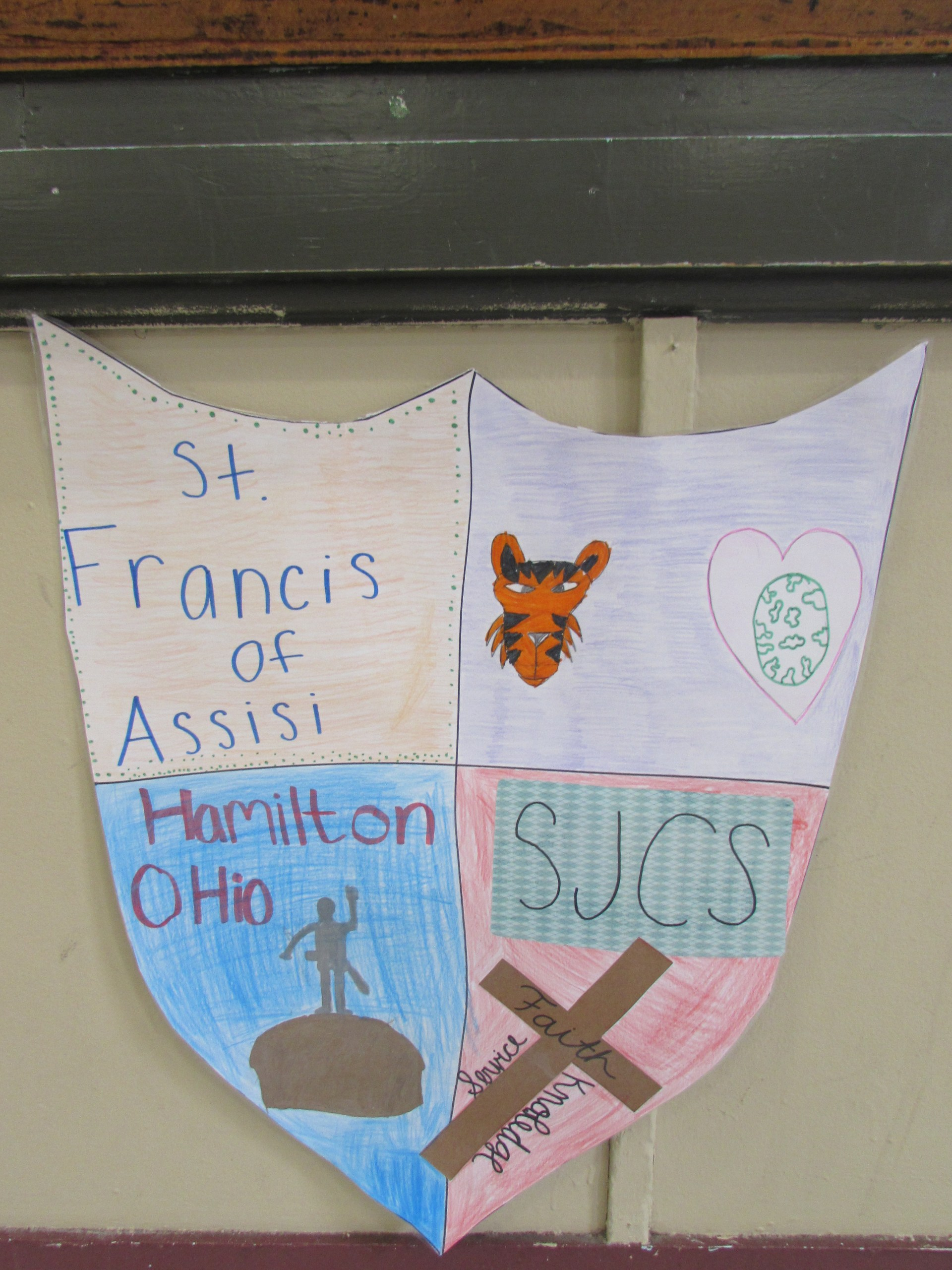 St. Francis of Assisi Crest