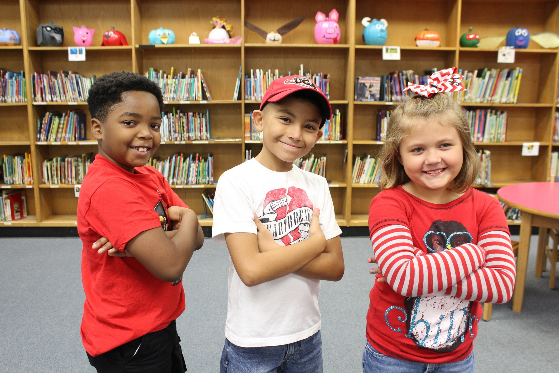 G.O. Bailey pledges to be drug free during Red Ribbon Week