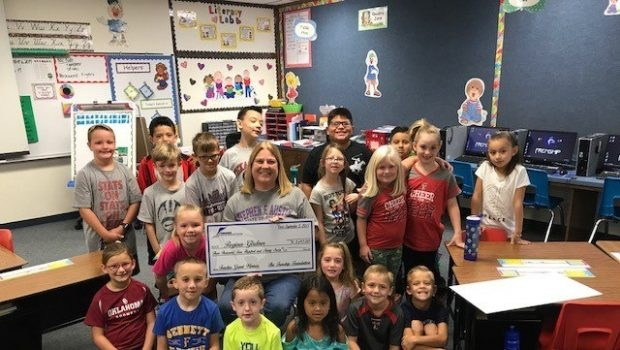 Teacher receives Grant from The Frenship Foundation