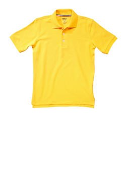 Boys Yellow Polo