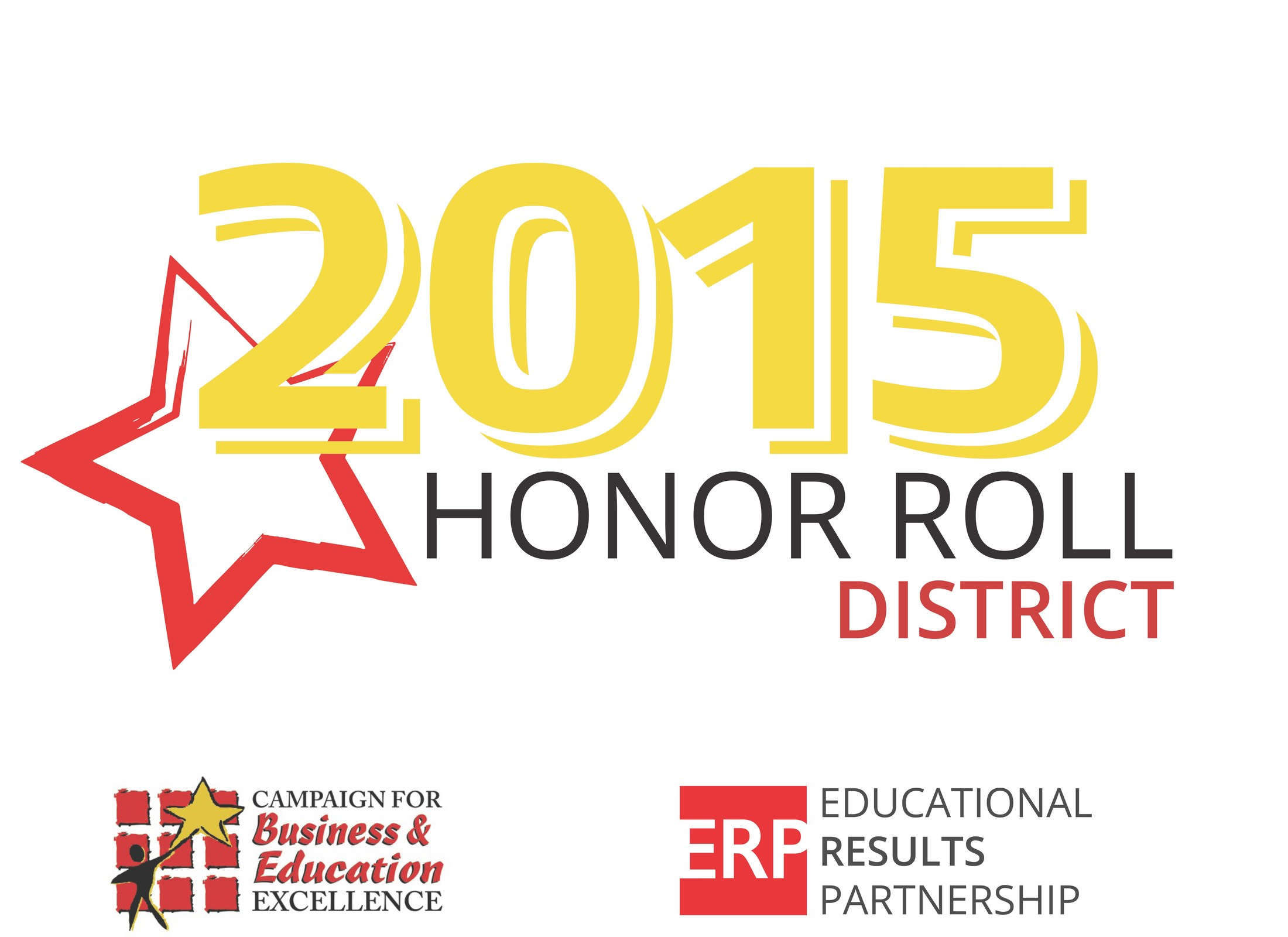 2015 Honor Roll District Award logo