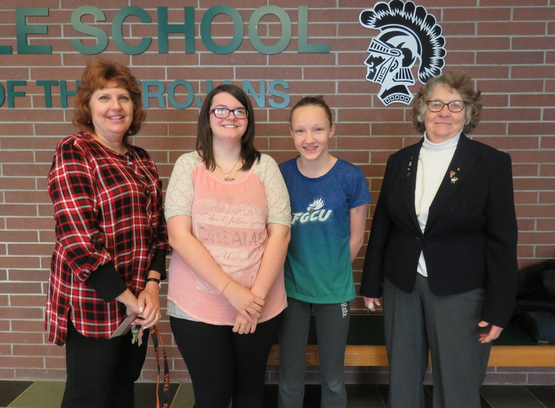 TKMS students advance in the Hastings Elks writing contest.