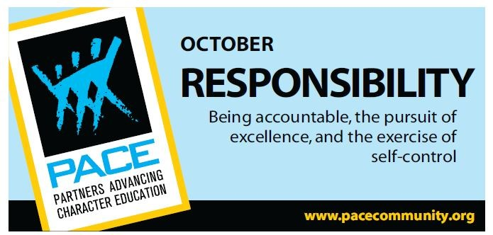 PACE Character Trait for October - Responsibility Thumbnail Image