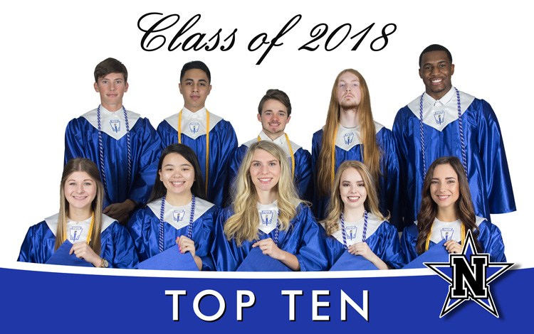 NHS CLASS OF 2018 TOP TEN Featured Photo