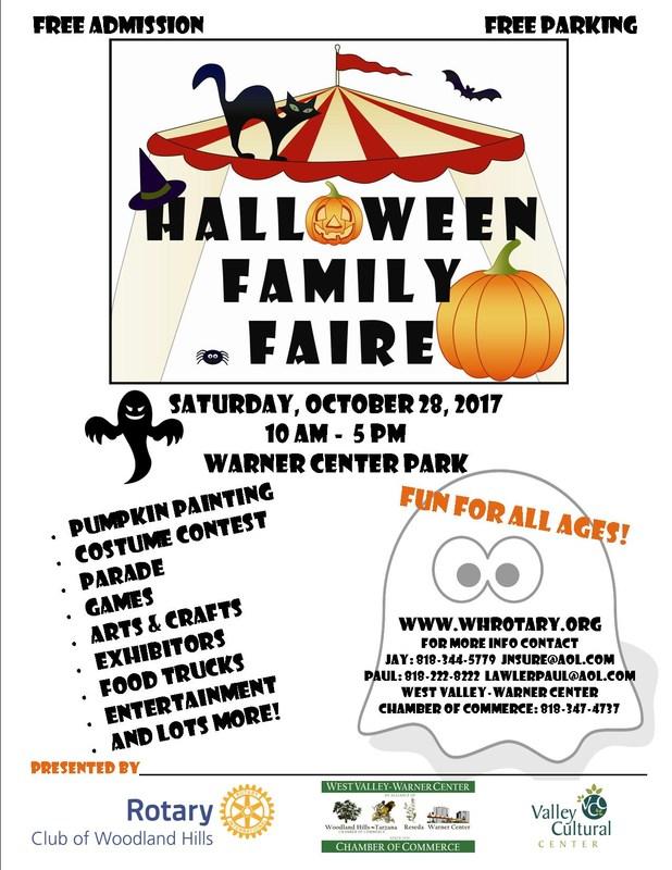 Join the Halloween Fun at Warner Center Park. Thumbnail Image