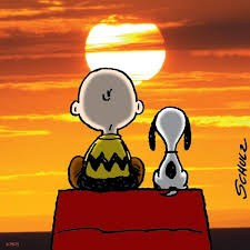 picture of Charlie Brown and Snoopy