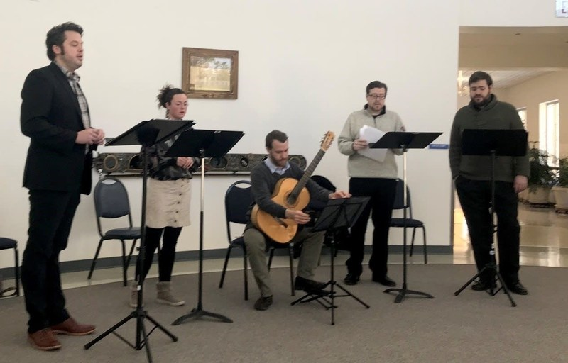 Mirandola Ensemble visits Minnesota State Academy for the Blind as Class Notes Artists Thumbnail Image