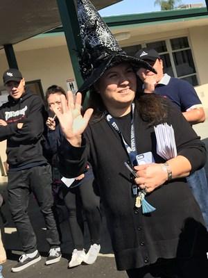 Witch saying hi