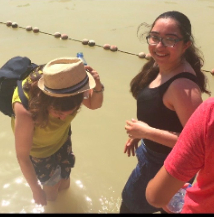 Isabelle Hazar is moved by Visit to Jordan River Featured Photo