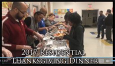Residential Thanksgiving Dinner Video