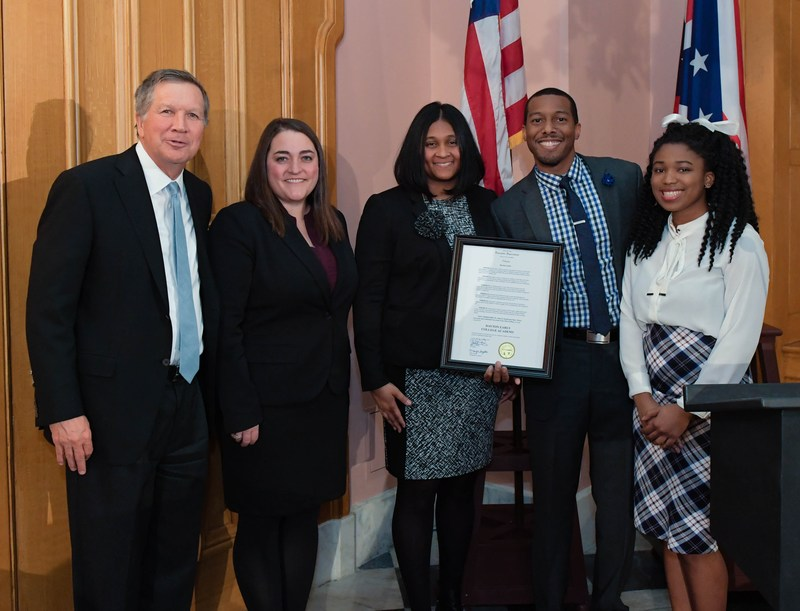 Dayton Early College Academy recognized by Governor John Kasich for Innovation Award Thumbnail Image
