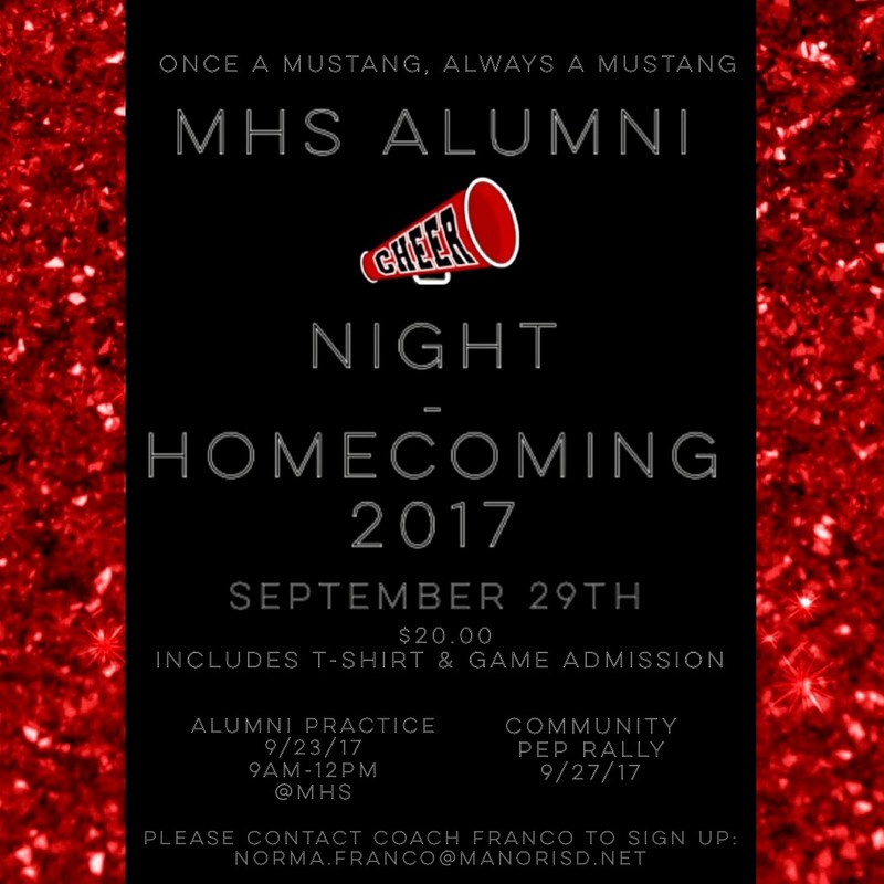 MHS Cheer-Alumni Night Thumbnail Image