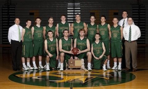 Boys Basketball State Champions 2012