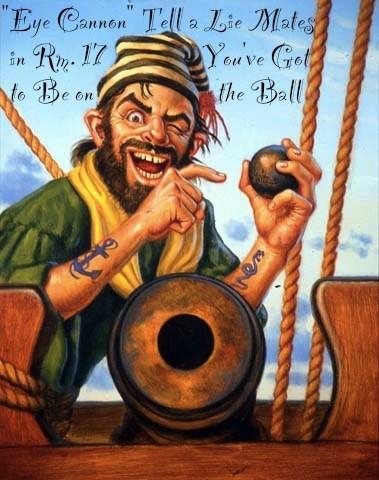Cannon Ball Pirate