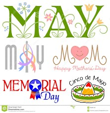 May, Mom, Memorial Day