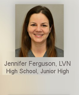 Nurse Jennifer Ferguson