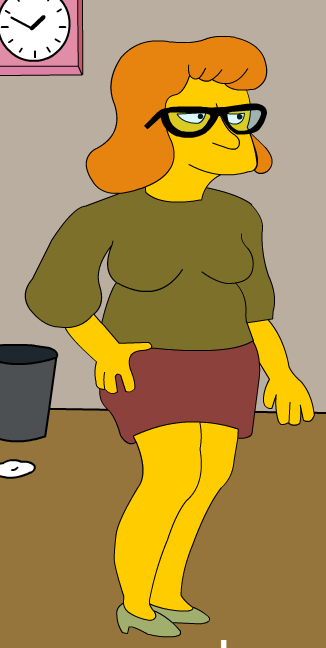 Mrs. Schipperts Simpsons Avatar