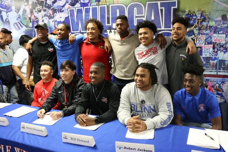 Temple Collegiate Football Signees