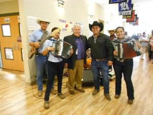 Principal Mr. Galvan and the VMA Conjunto Band