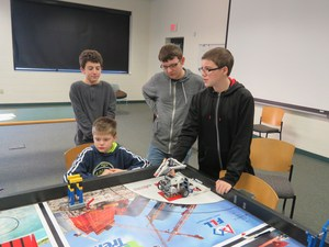 TK teams are ready for the FIRST Lego robotics competition.