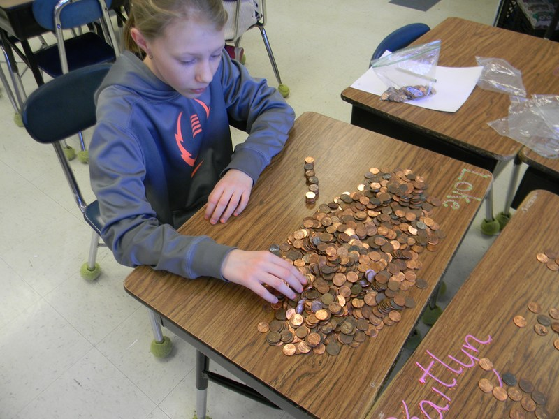 WARS FOR WISHES:  MECHANICS GROVE SCHOOL'S PENNY WARS Featured Photo
