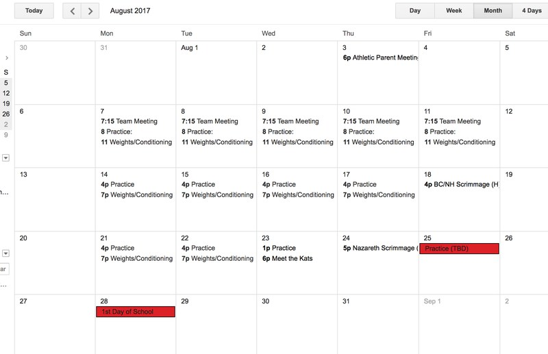 Bearkat Football Practice Schedule (2-a-days) Thumbnail Image