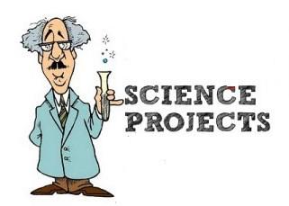 Cartoon picture of scientist
