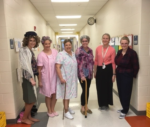 100 years old for our 100th Day!