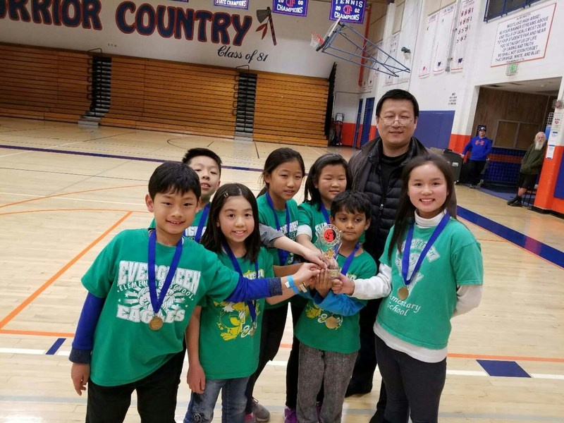 Evergreen Odyssey of the Mind Team  wins first place in regionals. Featured Photo