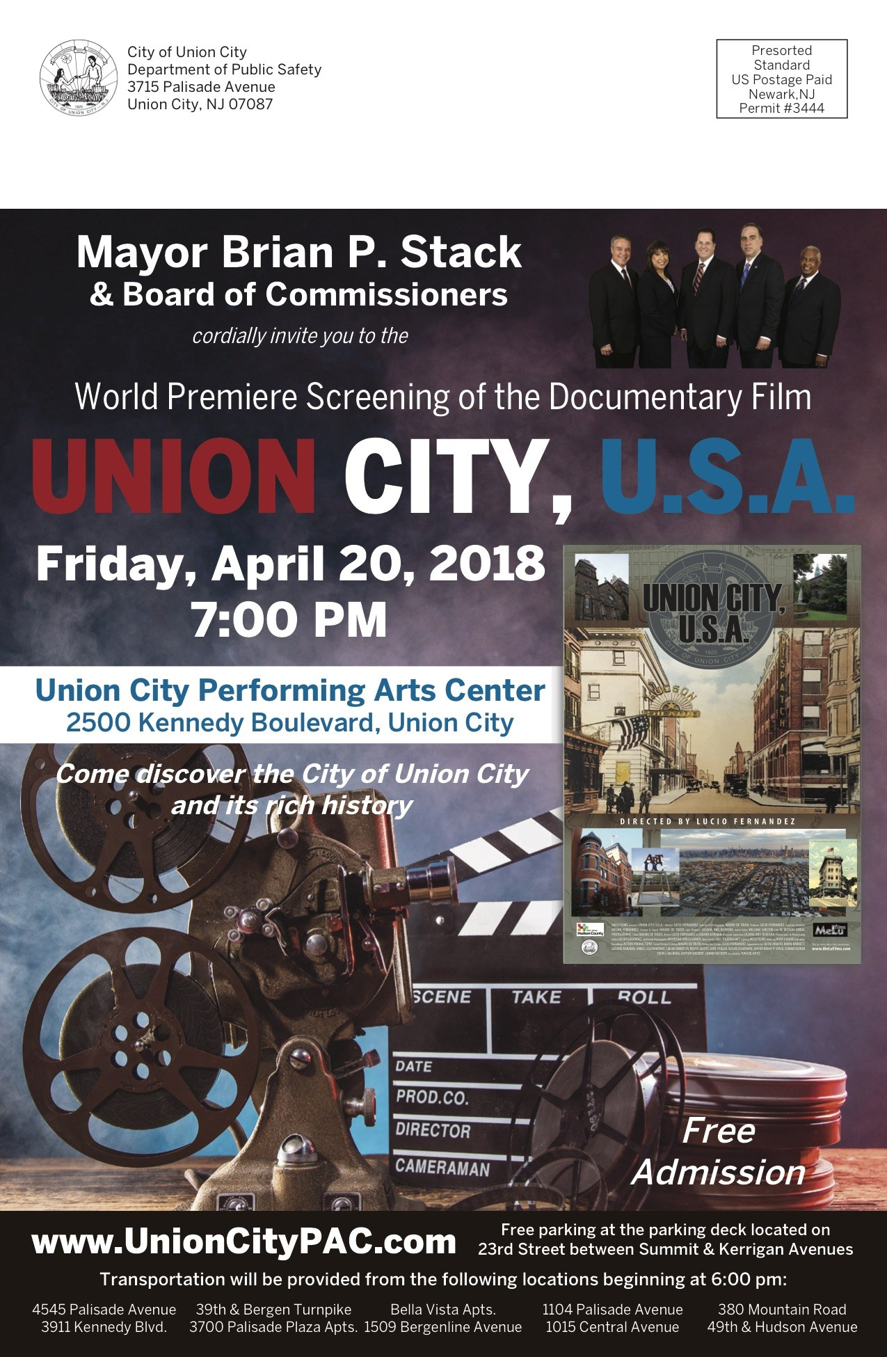 UC History Movie Flyer
