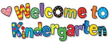 Welcome to Kindergarten