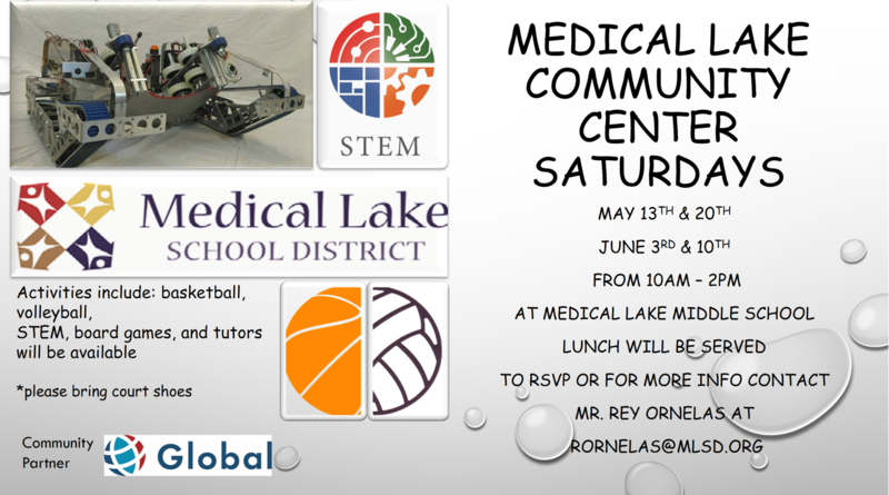 Only a Few Community Center Saturdays Left Thumbnail Image