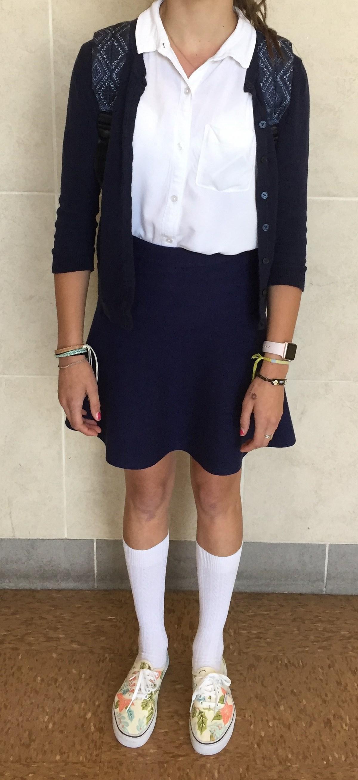 Girls Dress Uniform