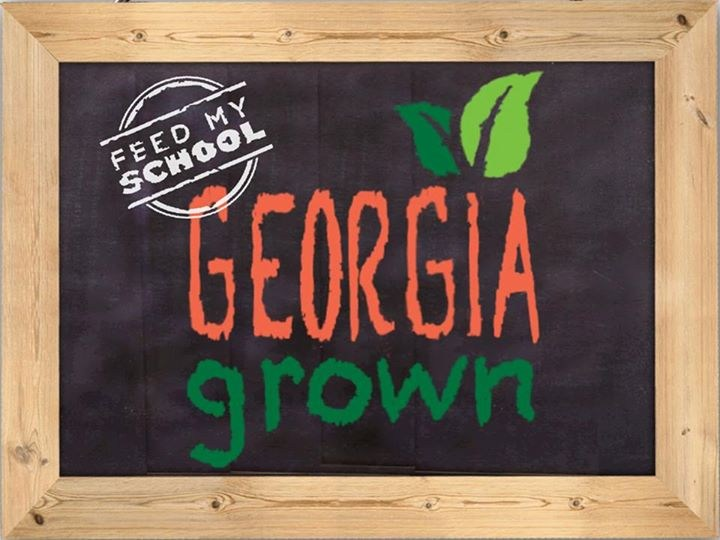 Georgia Grown sign
