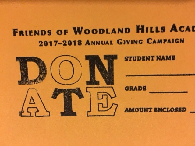 Donate to the 2017-2018 Friends of Woodland Hills Academy Giving Campaign Thumbnail Image