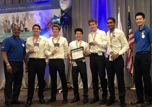 ESHS students take second place at the 40th annual Herndon Science Competition at The Aerospace Corporation in El Segundo.