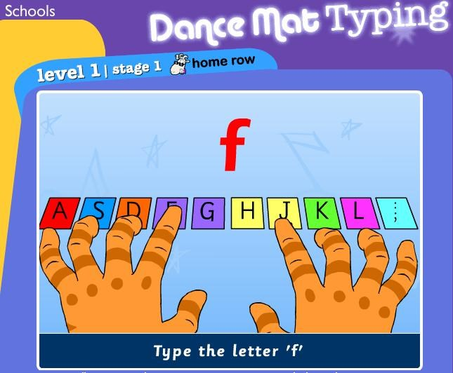 Dance Mat Typing Icon Link
