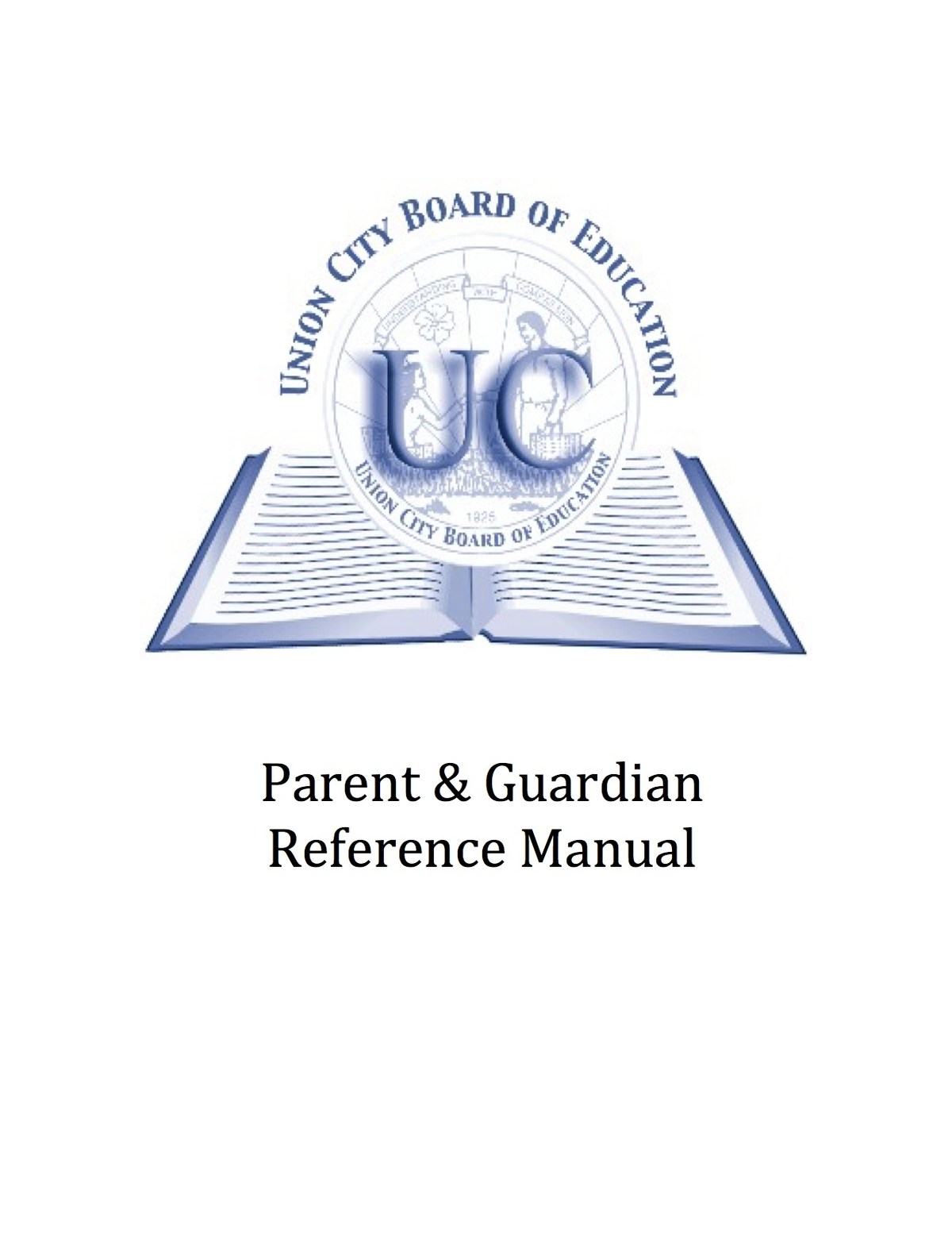 parent & guardian reference manual cover sheet