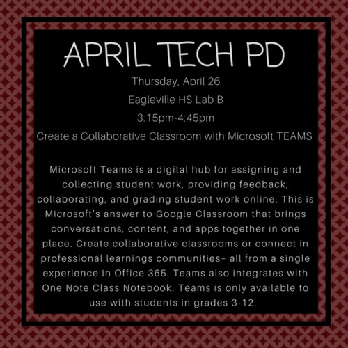 PD Sessions