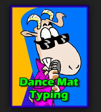 Image result for dance mat typing logo