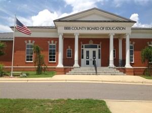 Bibb County Board of Education, exterior