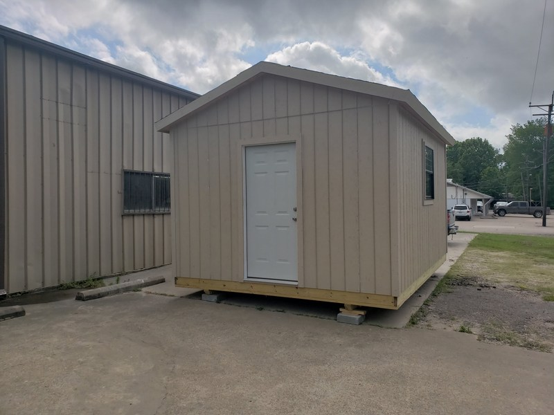 Groveton ISD Auctioning a 12' x 16' Storage Building Built By the Building Trades Class Thumbnail Image