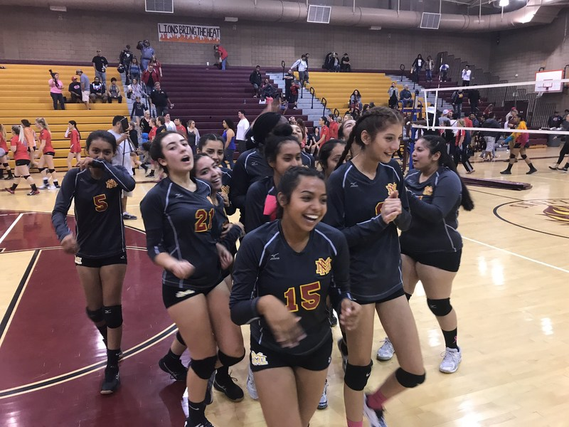 MMHS Girls Volleyball Win in 5 Game Match with North High Thumbnail Image