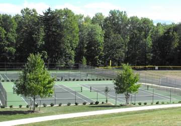 Academy of Saint Elizabeth Tennis Courts