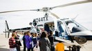 GT Students Learn About Helicopter