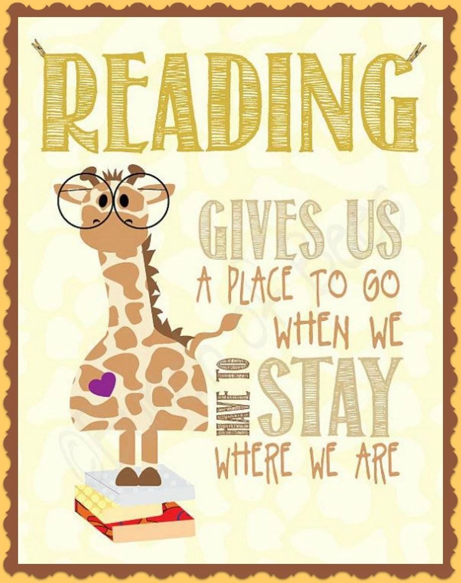 reading quote.