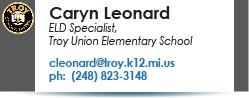 Caryn Leonard email