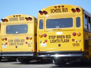 Hemet Unified school buses