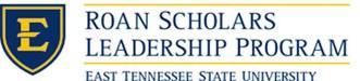 Roan Scholars Leadership Program at ETSU