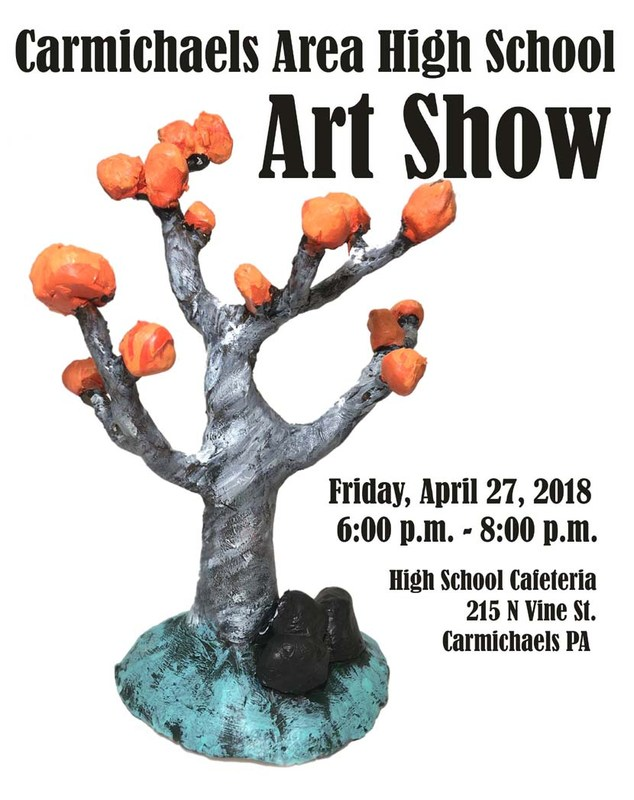 Carmichaels Area High School Art Show Thumbnail Image